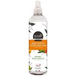 Brume parfumée - Air / Textiles - Pamplemousse / Bergamote - 400 ml - BOLDAIR - Parfum d'intérieur - DE-574328