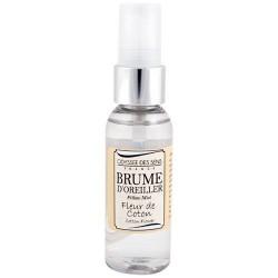 Brume d'oreiller - 50 ml - Fleur de Coton - ODYSSEE DES SENS - Parfum d'intérieur - DE-804997