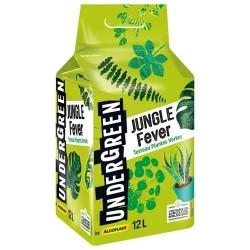 Terreau pour plantes vertes - Jungle Fever - 12 L - UNDERGREEN - Terreau - DE-383753