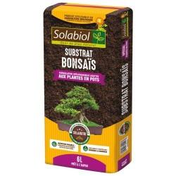 Terreau pour Bonsaïs - Plantes en pot - 6 L - SOLABIOL - Terreau - DE-306530
