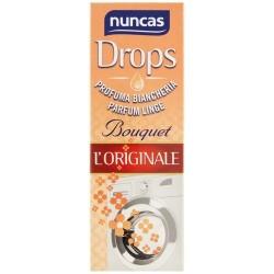 Parfum de linge liquide - Drops L'originale - Bouquet - 100 ml - NUNCAS - Assouplissant et parfum de linge - DE-565004