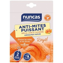 Anti-Mites - Feuillet pour armoire x 2 - Royal / Fleuri - NUNCAS - Insectes volants - DE-564477