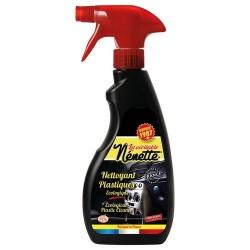 Nettoyant Plastiques véhicules - Ecologique - 500 ml - LA NENETTE - Lustrage et entretien - DE-246389