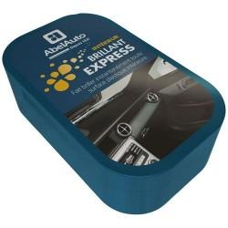 Nettoyage Plastiques véhicules - Brillant Express - Eponge imprégnée - ABEL AUTO - Lustrage et entretien - DE-552992