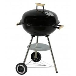 Barbecue charbon - Four saveur - Émaillé - Noir - CAO - Barbecue - 250209D