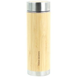 Théière isotherme - 360 ml - Bambou véritable - Zen n'go - YOKO DESIGN - Bouteille, gourde, mug, canette - DE-572074
