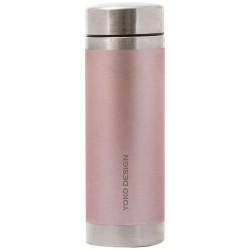 Théière isotherme - 350 ml - Glitter Rose Gold - YOKO DESIGN - Bouteille, gourde, mug, canette - DE-572082