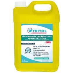 Nettoyant dégraissant / désinfectant - Sols / Surfaces - 5 L - WYRITOL - Hygiène de la maison - DE-566720