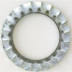 """Rondelle """"Éventail"""" à cran - ⌀ 4 mm - Lot de 500 - SCID - Rondelle - BR-277568"""