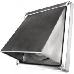 Grille de ventilation à auvent - Inox - Diamètre 100 mm - DMO - Grille de ventilation - BR-191156