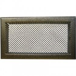 Grille d'aération cheminée - Bronze - 345 x 195 mm - DMO - Grille de cheminée - BR-730896