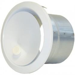 Bouche de soufflage directionnelle Ronde- ⌀ 125 mm - DMO - Distribution air chaud - BR-730893
