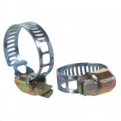 Colliers de serrage bande ⌀18 - 28 mm à crémallière - Lot de 10 - CAP VERT - Colliers de serrage - BR-590376