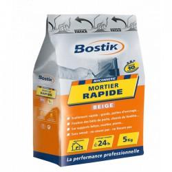 Mortier rapide - Prise 10 Min - 5 Kg - BOSTIK - Mortier - BR-700168