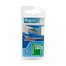 Agrafes Isolation / Assemblage N°140 - ⌀8 mm - Lot de 970 - RAPID - Agrafes - BR-601430