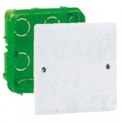 Boîte de dérivation carrée à sceller 120 x 120 mm - LEGRAND - Boites d'encastrement et dérivation - BR-594873