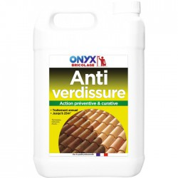Anti verdissure - Action préventive et curative - 5 L - ONYX -  - BR-739966