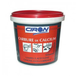 Carbure de Calcium - 1 Kg - Répulsif taupes et rongeurs - CIRON - Taupes - CARBUCA1