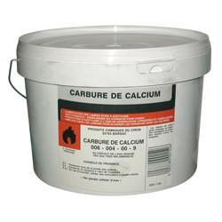 Carbure de calcium 5kg - Répulsif Taupes et rongeurs - Taupes - CARBUCA5