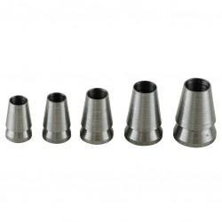 Assortiment de 5 coins d'emmanchage - Pour têtes de marteaux -MOB - Manches pour outil à main - BR-778494