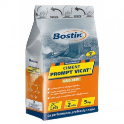 Ciment Prompt Vicat - Sac de 5 Kgs - BOSTIK - Ciment et Plâtre - BR-700154