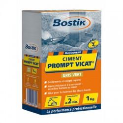 Ciment Prompt Vicat - Boîte de 1 Kg - BOSTIK - Ciment et Plâtre - BR-700153