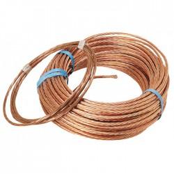 Couronne de 3 M de câble de terre - 25 mm² - Fils et câbles électriques - BR-660663