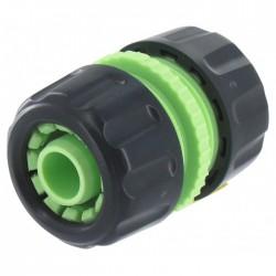 Raccord pour tuyau - Réparateur et prolongateur - 19 mm - CAP VERT - Raccords réparateur - BR-098109