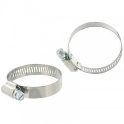 Collier à bande - ⌀ 77-97 mm - 14 mm - Lot de 2 - CAP VERT - Colliers de serrage - BR-590345