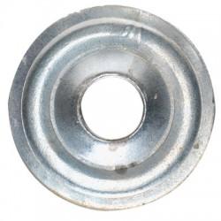 Rosace plate en acier - ⌀ 26 mm - Lot de 10 - FIX'PRO - Autres types de fixation - BR-563064