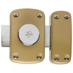 Verrou à bouton intérieur sans cylindre - Cyclop - VACHETTE - Verrous - BR-576174