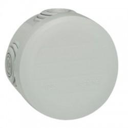 Boîte de dérivation Plexo - 4 entrées - Ronde - ⌀ 60 mm - LEGRAND - Boites d'encastrement et dérivation - BR-547042