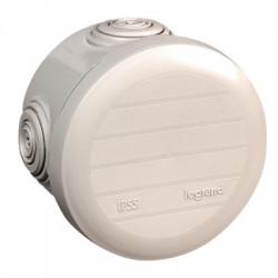 Boîte de dérivation Plexo - 4 entrées - Ronde - ⌀ 70 mm - LEGRAND - Boites d'encastrement et dérivation - BR-547050