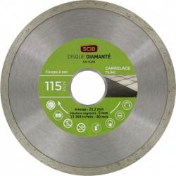 Disque Diamant carreleur - ⌀ 115 mm - SCID - Disque - BR-704196