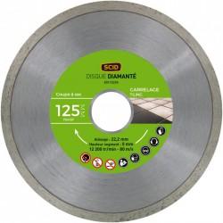 Disque Diamant carreleur - ⌀ 125 mm - SCID - Disque - BR-704197