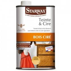 Abundo.fr | Teinte et Cire liquide Chène Moyen 500ml - STARWAX - Entretien du bois - 15,78€