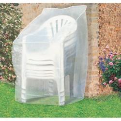 Housse de protection fauteuils de jardin - CAP VERT - Protection mobilier jardin - BR-016170