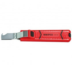 Couteau à dégainer - 165 mm - KNIPEX - Outil d'électricien - BR-571497