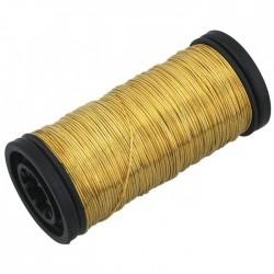 Bobine de fil carcasse laiton - ⌀ 4 mm - FILIAC - Fils d'attache grillage - BR-154652