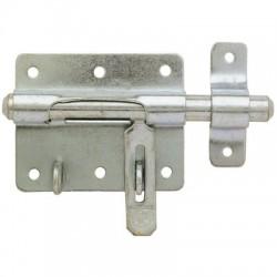 Verrou de box à gland à porte-cadenas - ⌀ 14 mm - Verrous - BR-196108