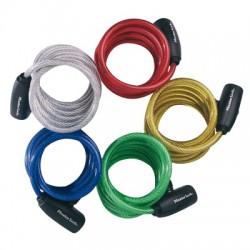 Câble antivol enrouleur à clé - N°8127 - MASTER LOCK - Antivol - BR-162508