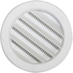 Grille à auvent à encastrer - ⌀ 125 mm - DMO - Grille de ventilation - BR-192177