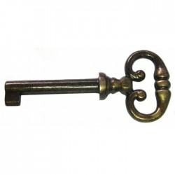 Clé de meuble rustique zamack - Bronze - STRAUSS - Accessoires de meuble - BR-399328