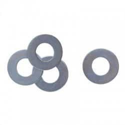 Rondelle plate en acier cadmié - ⌀ 18.5 x 40 mm - Boîte de 100 - Rondelle - BR-277452