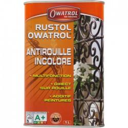 Antirouille multifonction - Additif pour peintures - 1 L - OWATROL - Antirouille - BR-065072