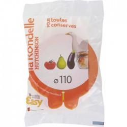 Rondelle universelle 2 nez pour conserves - Lot de 10 - HUTCHINSON - Bocaux / Fermetures - BR-302191