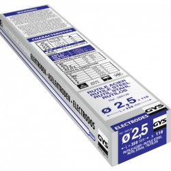 Électrodes de soudage - Rutile Acier -⌀ 2.5 mm - Boîte de 110 - GYS - Pour la soudure - BR-318183