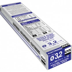 Électrodes de soudage - Rutile Acier -⌀ 3.2 mm - Boîte de 70 - GYS - Pour la soudure - BR-319191
