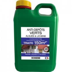Anti-dépôts verts - Algues et Lichens - 2 L - ÉCOGENE -  - BR-392618