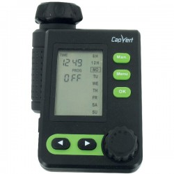 Programmateur d'arrosage électronique - LCD - CPV527 Plus - CAP VERT - Minuteurs et programmateurs - BR-098427